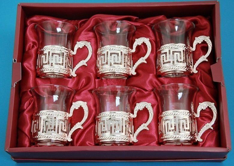 Набор из 6-ти стаканов Древний Рим