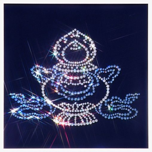 Картина с кристаллами Swarovski  Ваза-сокровищница