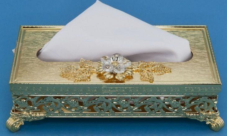 Коробочка под салфетки и платочки Мадам
