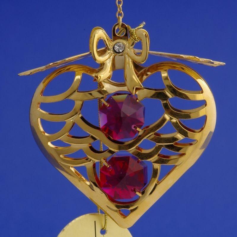 Фигурка с кристаллами сваровски Сердце