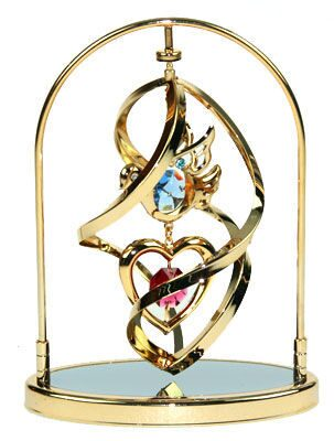 Декоративная композиция сваровски Сердце