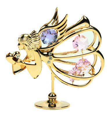 Фигурка декоративная сваровски Цветной ангел