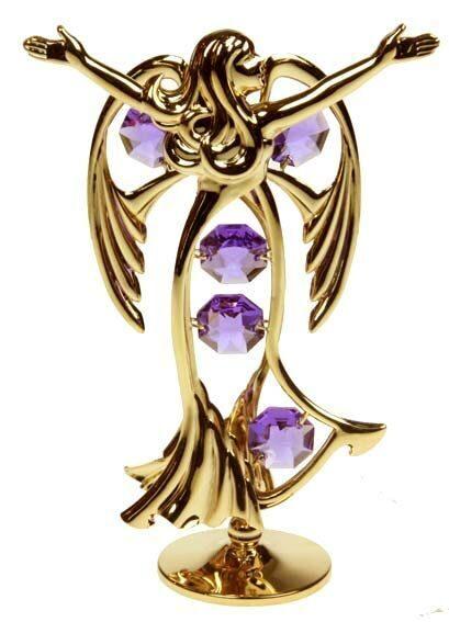 Фигурка декоративная сваровски Певчий ангел