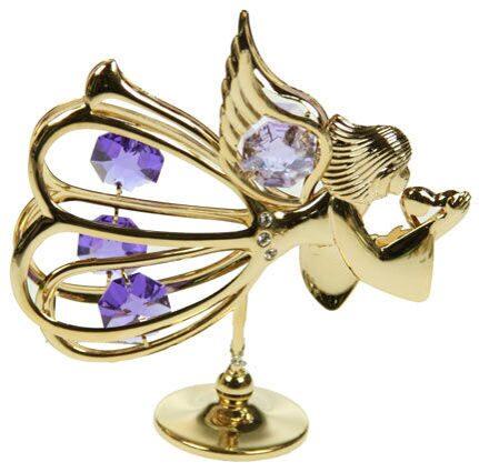 Фигурка декоративная сваровски Летящий ангел