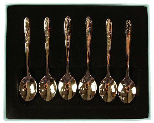 Подарочный набор десертных ложечек на 6 персон