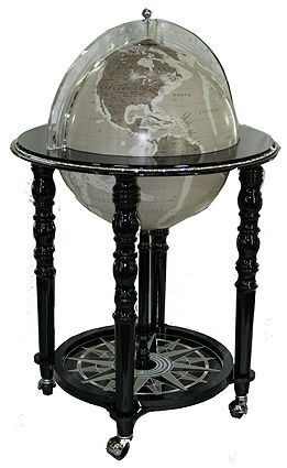 Глобус бар с кристаллами Swarovski Даниэль