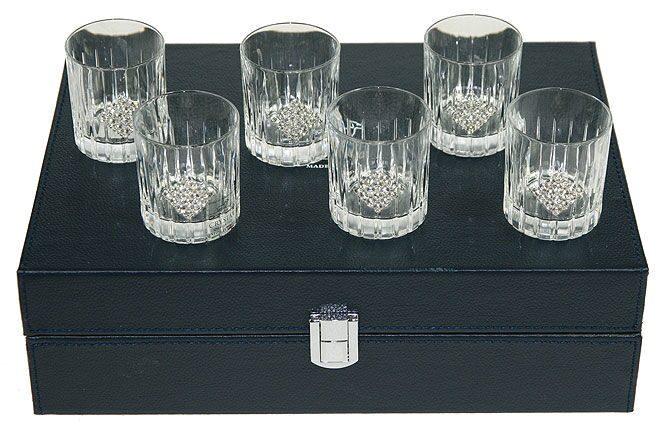 Подарочный набор для водки на 6 персон Грани роскоши