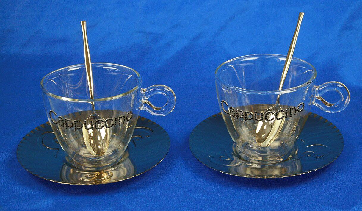 Подарочный набор для кофе на 2 персоны Cappuccino