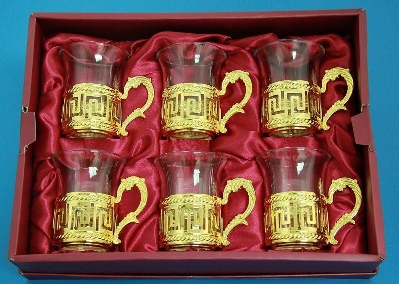 Набор из 6-ти стаканов Рим