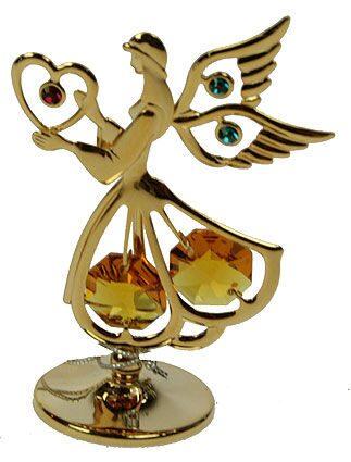 Фигурка декоративная сваровски Ангел