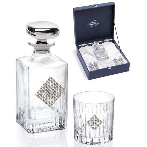 Подарочный набор для виски со стразами сваровски Грани роскоши