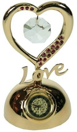 Фигурка Swarovski с часами С любовью