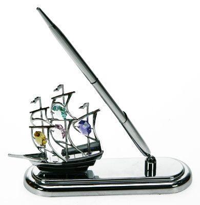 Настольный набор Swarovski Кораблик