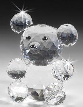 Фигурка Медвежонок из хрусталя