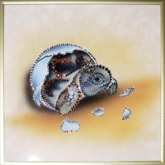 Картина с кристаллами Swarovski  Новая жизнь