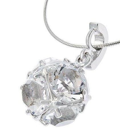 Подвеска с кристаллами сваровски  Шар Фаберже