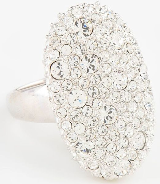 Кольцо с кристаллами сваровски Анна