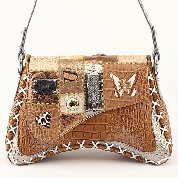 Дизайнерская сумка с кристаллами Swarovski Samanta