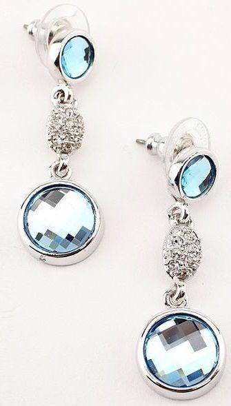 Серьги с кристаллами сваровски Мечта Мери