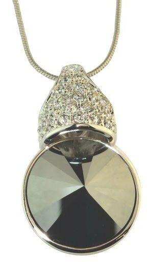 Подвеска с кристаллами сваровски Бриллиантовая корона