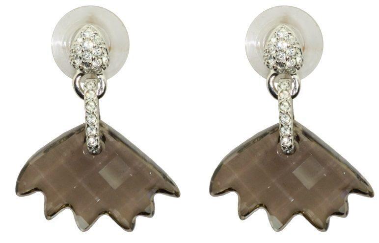 Гвоздики с кристаллами Swarovski Pretty, лотос