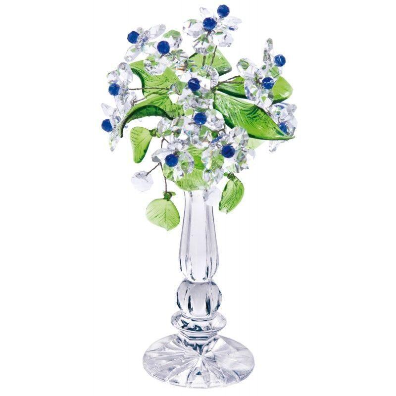 Хрустальный букет цветов Капельки воды