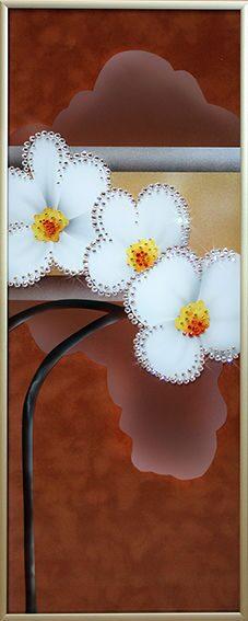 Картина сваровски Нарциссы-3