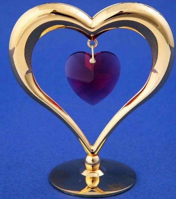 Фигурка Swarovski Прямо в сердце