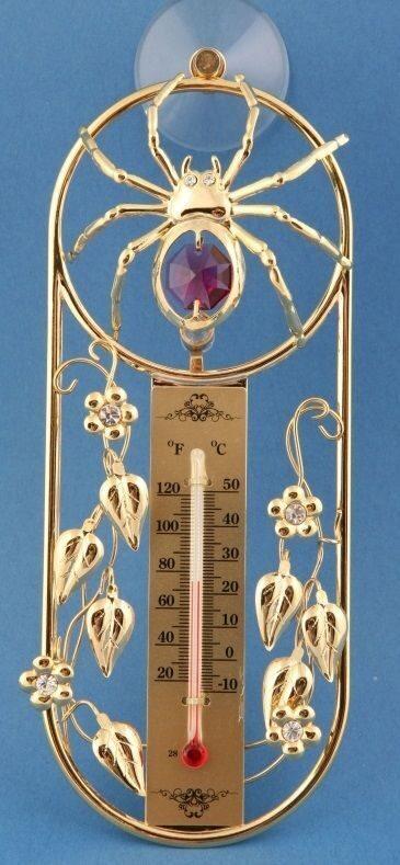 Термометр на присоске Паук