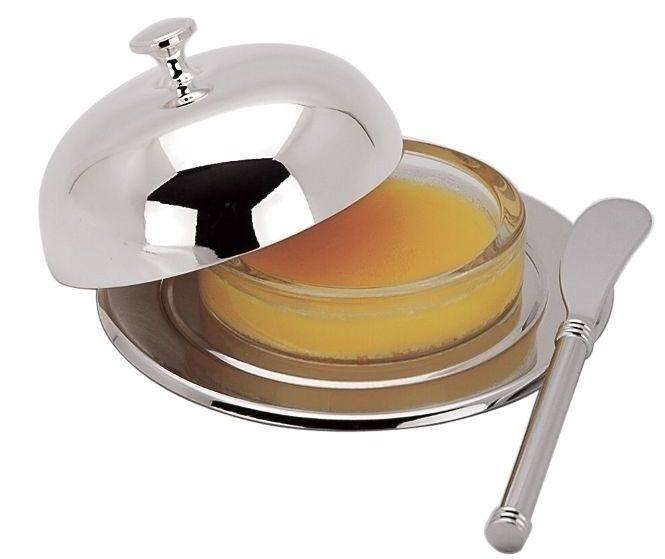 Масленка с ножиком Топ Лайн