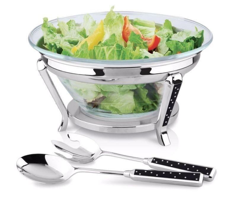 Салатник с набором для салата Мимоза