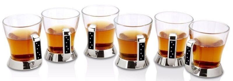 Набор из 6 чайных стаканчиков Бриллиант