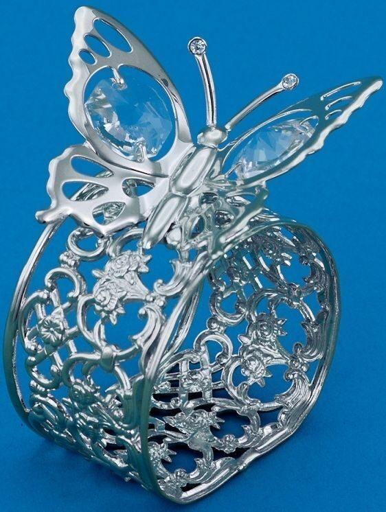 Набор из 2-х колец для салфеток Бабочки