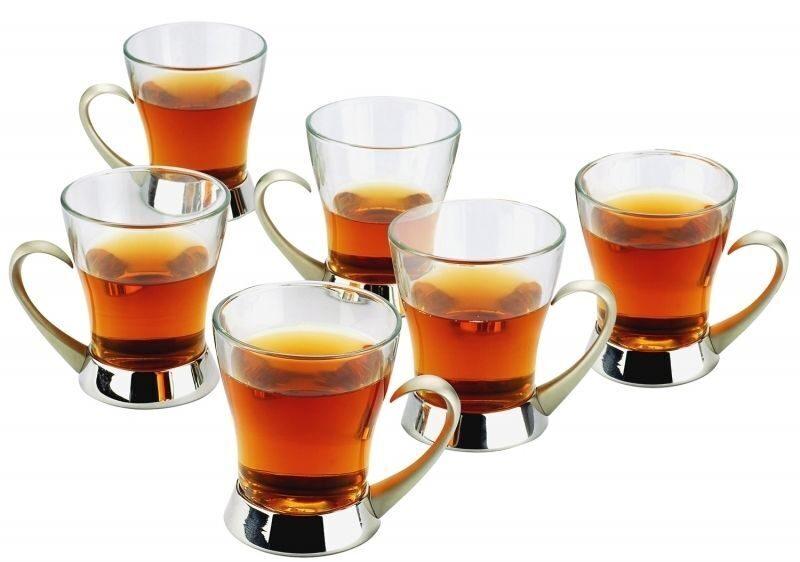 Набор из 6 чайных стаканчиков Компания