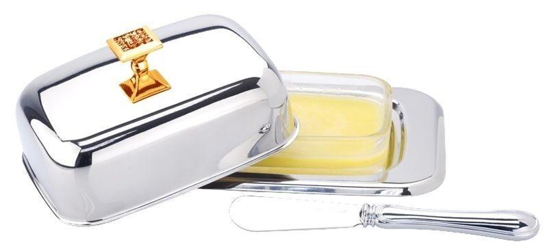 Масленка с ножиком Прованс
