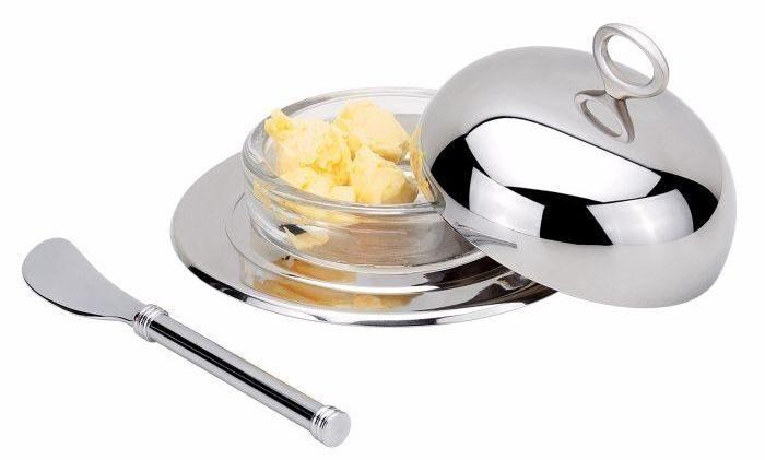Масленка с ножиком Овацион
