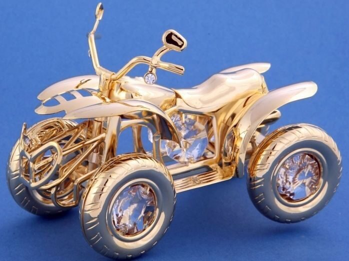 Фигурка с кристаллами Swarovski Квадрацикл