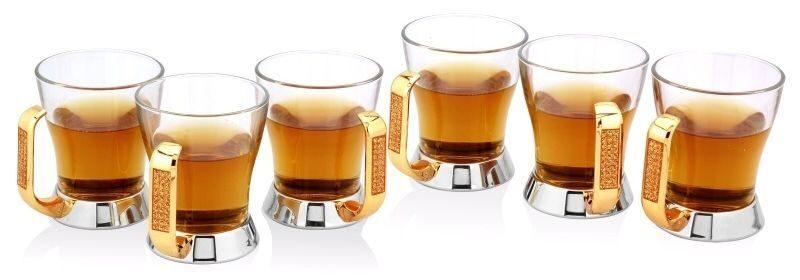 Набор из 6 чайных стаканчиков Глиттер