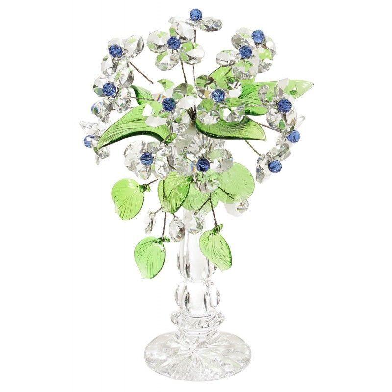 Хрустальный букет цветов Праздничный
