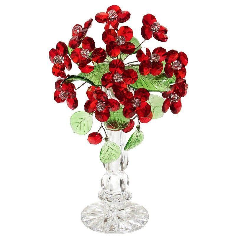 Хрустальный букет цветов Букет из аленьких цветочков