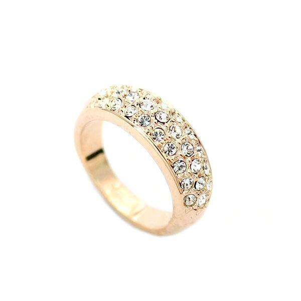 Кольцо с кристаллами сваровски Хлоя