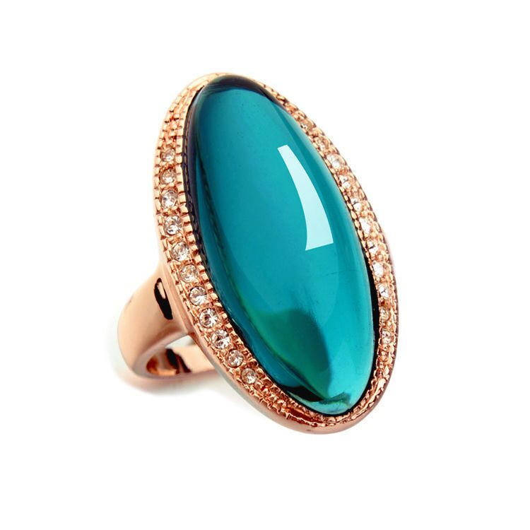 Кольцо с кристаллами Swarovski Медина
