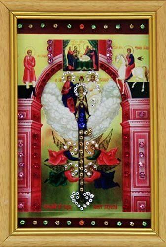 Икона с кристаллами Swarovski Ключ Разумения