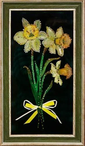 Картина сваровски Нарциссы