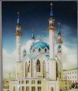 Картина с кристаллами Swarovski Кул-шариф
