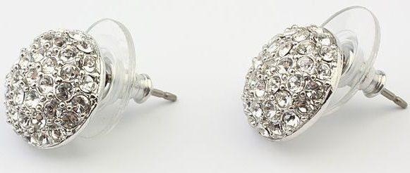 Гвоздики с кристаллами сваровски  Кабашон