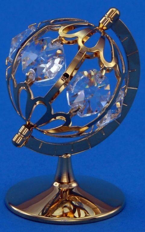 Фигурка с кристаллами сваровски Мир