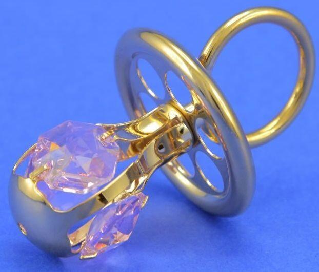 Фигурка с кристаллами сваровски Соска