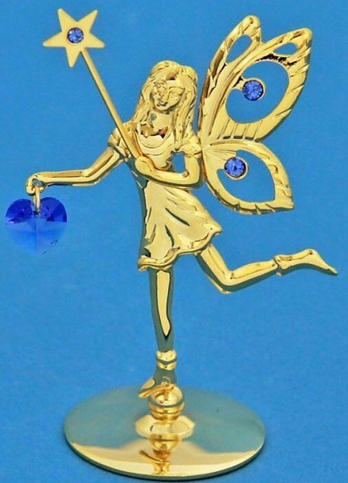 Фигурка с кристаллами Swarovski Фея со звездой