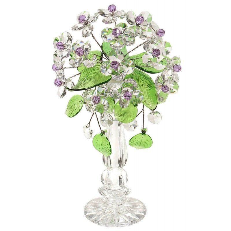 Хрустальный букет цветов Нежный